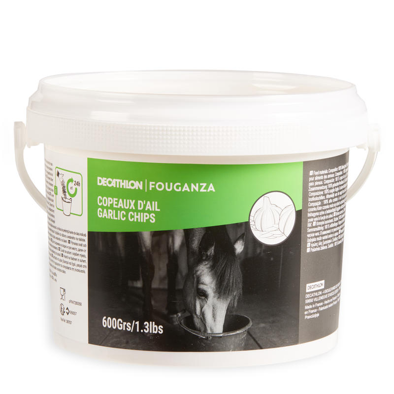 Garlic Flakes Horse and Pony Feed Supplement 600g