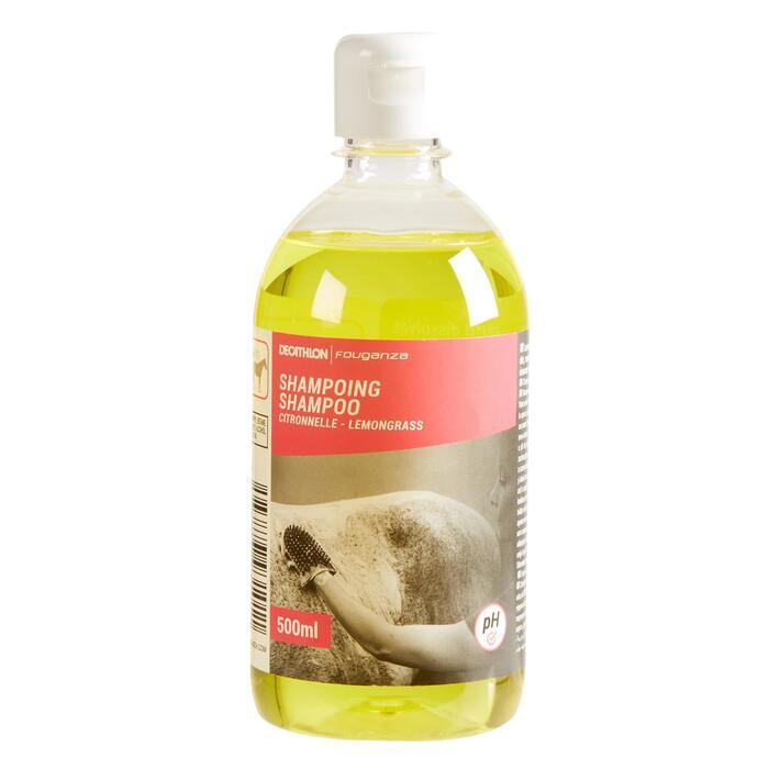 Shampoo voor ruitersport paard en pony citroenkruid 500 ml