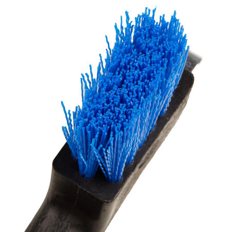 Horse Riding Hoof Pick Brush - Electric Blue