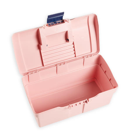 Horse Riding Grooming Case 300 - Pink / Navy
