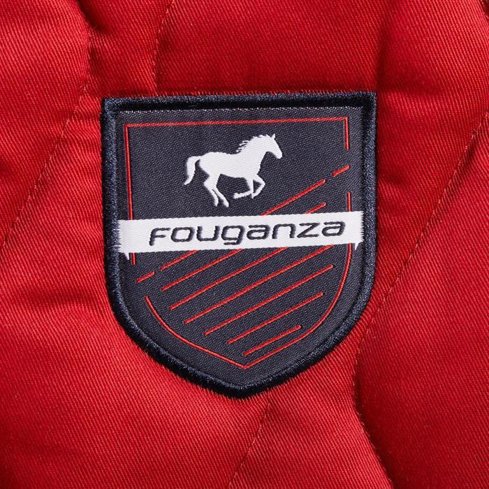 Zadeldek ruitersport paard en pony 500 rood