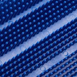 Rasqueta Finlandesa Equitación SCHOOLING Adulto Azul Modelo Grande