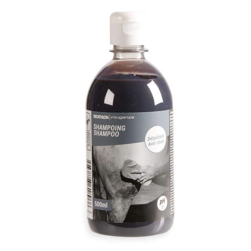 HORSE CARE Horse Riding - Stain Remover Shampoo 500ml FOUGANZA - Horse Riding