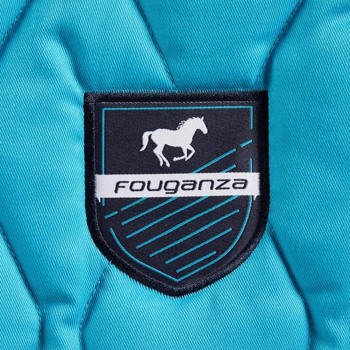 Zadeldek ruitersport paard en pony 500 turquoise