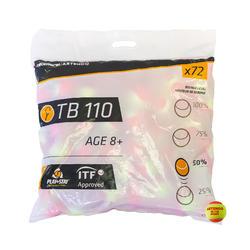 網球TB110(72入)-橘色
