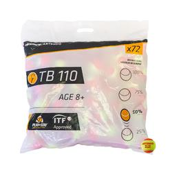 Tennis Balls TB110 x 72 - Orange
