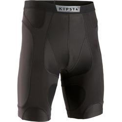 男款底層短褲Keepdry 900 Supportiv-黑色