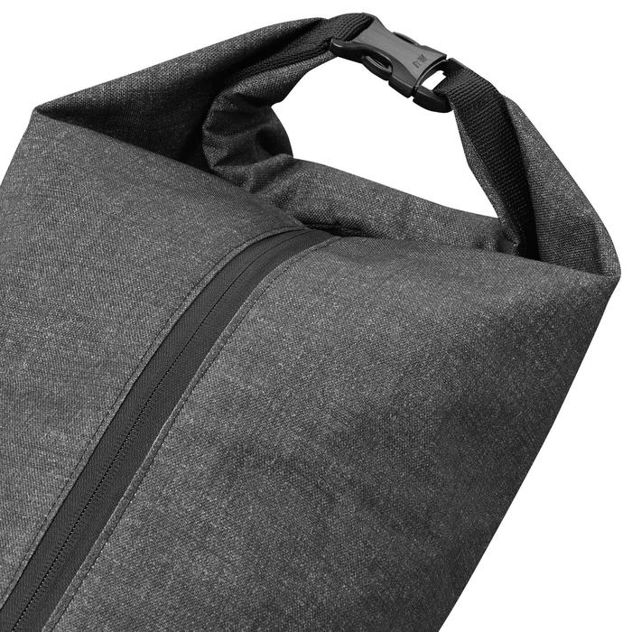 Skitasche 500 schwarz/grau