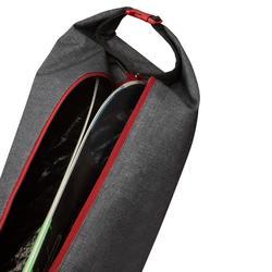Ski Bag 500 - Green Maroon and Grey