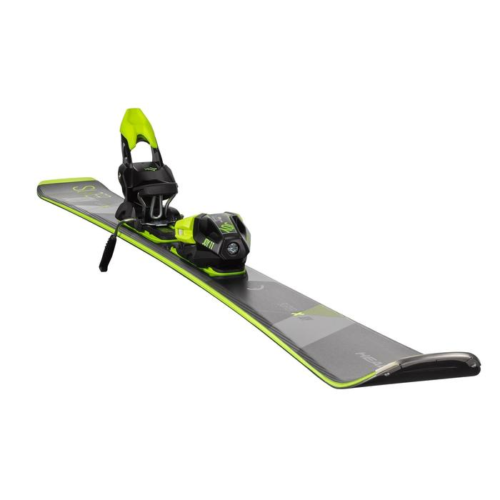 SKI DE PISTE FEMME AVEC FIXATION HEAD SUPER JOY