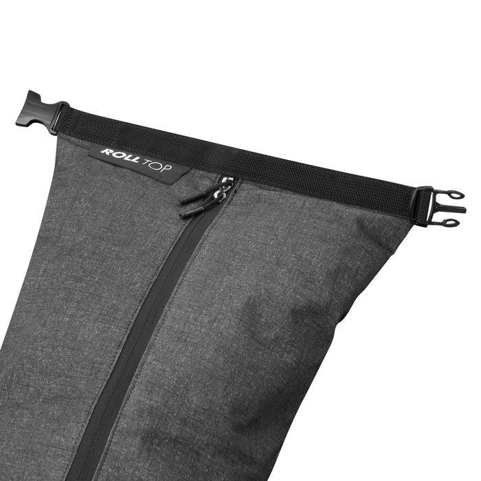 Ski Bag 500 - Green Black and Grey