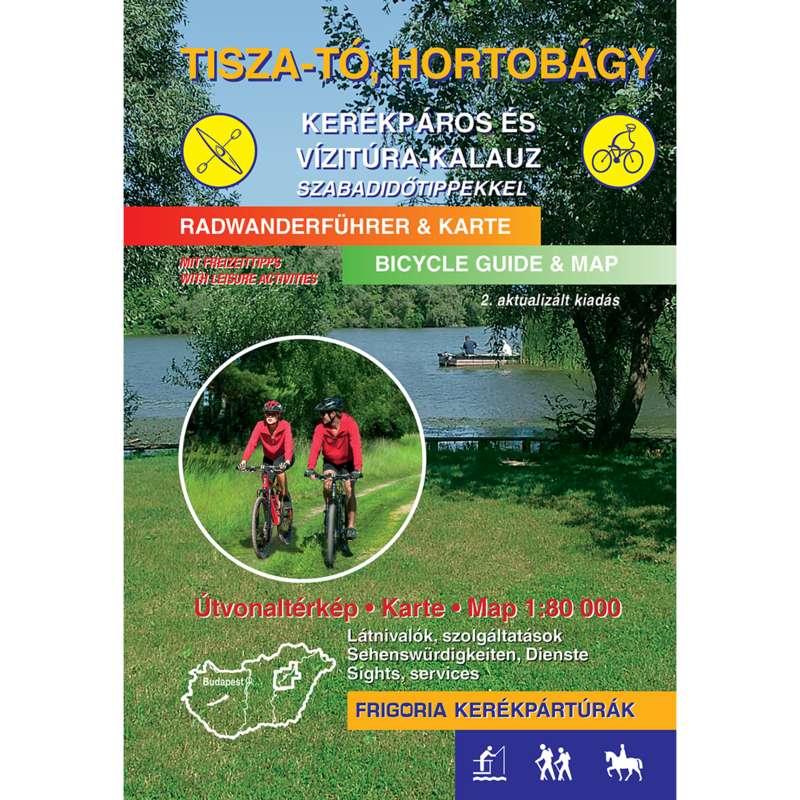 térképek Kerékpározás - Tisza-tó, Hortobágy kerékpáros CARTOGRAPHIA - Kerékpár kiegészítők
