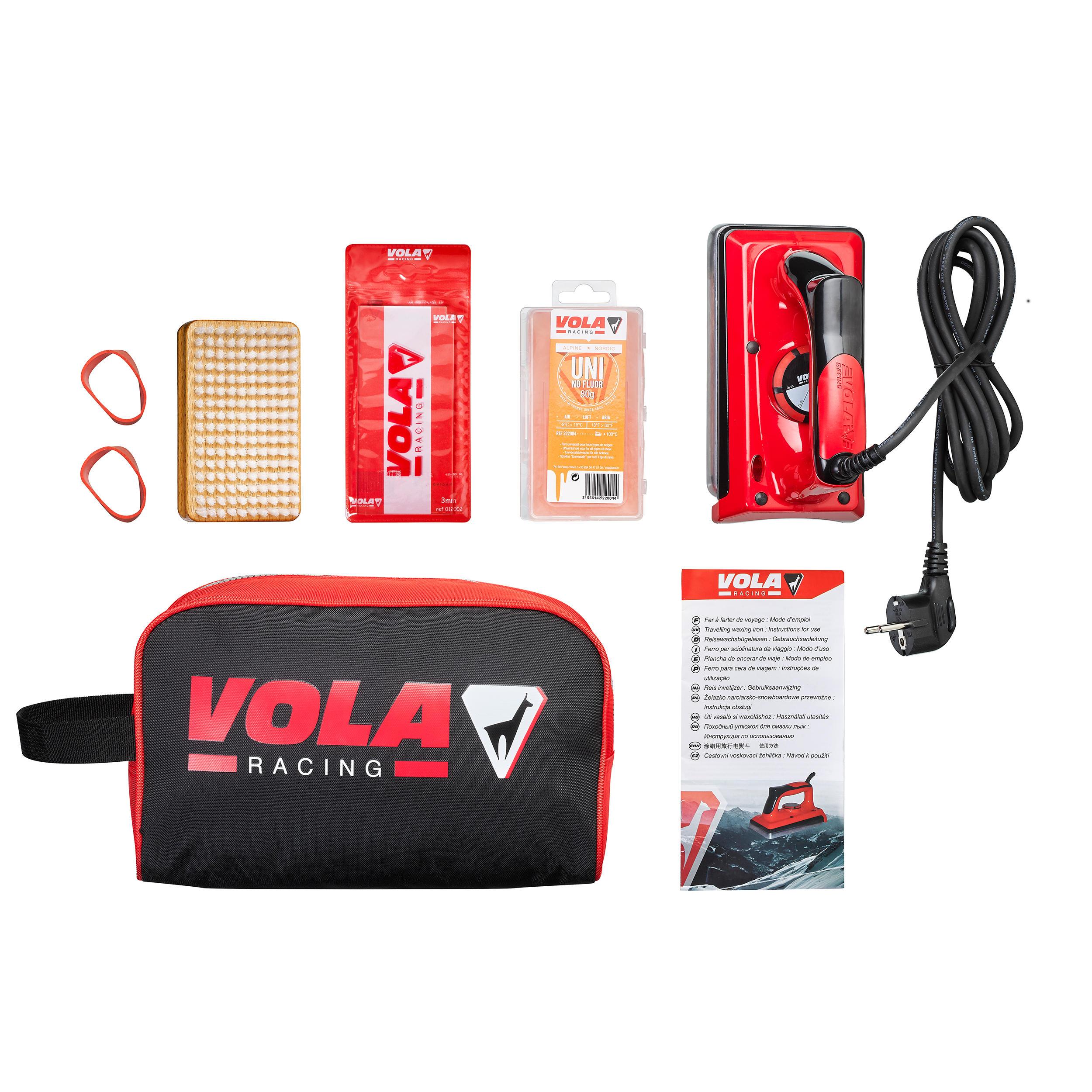 Vola Ski Wax Preparation Kit Vola Decathlon