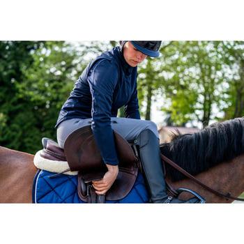 Zadelonderlegger Lena wol ruitersport paard en pony beige