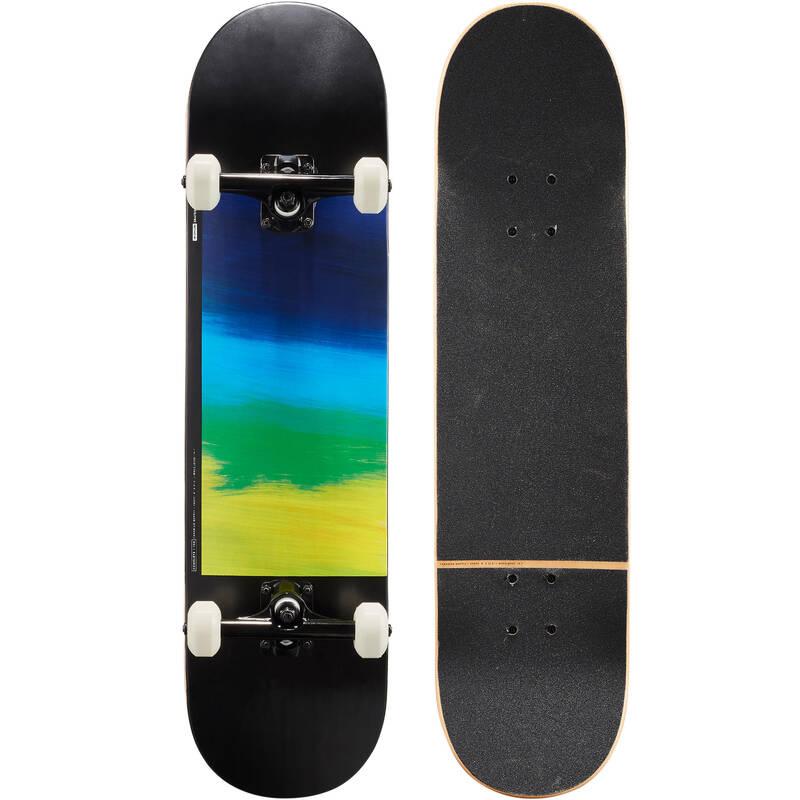 SKATEBOARDY Skateboarding, longboarding, waveboarding - SKATEBOARD COMPLETE 100  OXELO - Vybavení na skateboard
