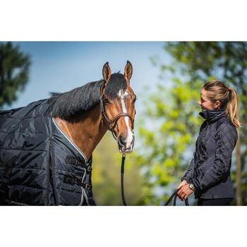 Couverture d'écurie équitation cheval et poney STABLE 200 noir