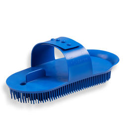 Adult Large Horse Riding Sarvis Curry Comb Schooling - Blue