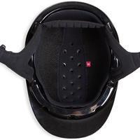Casque équitation 520 noir glossy