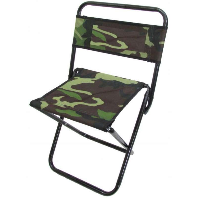 СКЛАДНЫЕ СТУЛЬЯ Рыбалка - Рыболовный стул со спинкой AFA - Оборудование