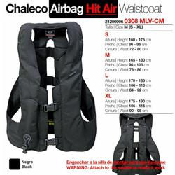 Chaleco seguridad airbag HIT-AIR