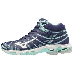 Dames Volleybalschoen Mizuno Wave Voltage hoog