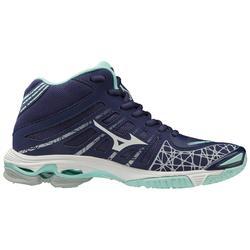 Chaussure de volley-ball pour femmes Mizuno Wave Voltage haut