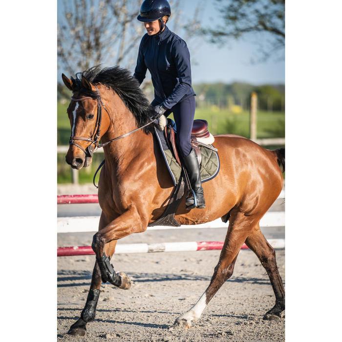 500 Women's Grippy Horse Riding Jodhpurs - Navy