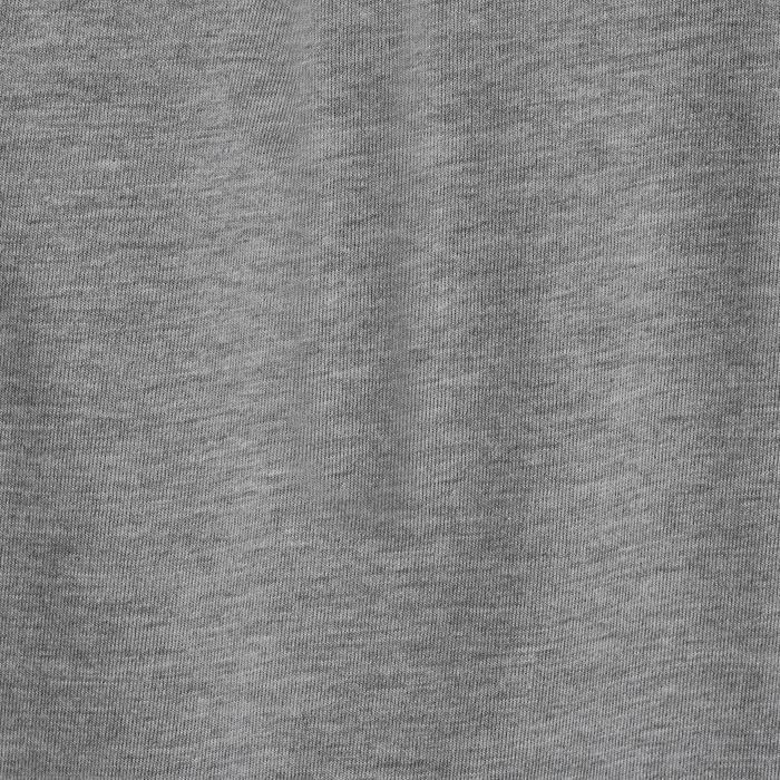Turnierhemd kurzarm Bi-Material Herren weiß/grau