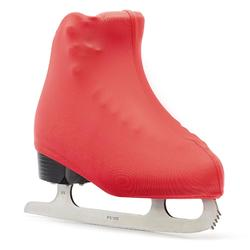 Cache-patins artistique rose