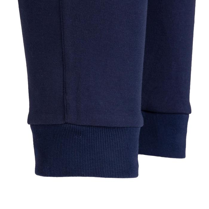 男款修身剪裁皮拉提斯溫和健身長褲560 - 灰色