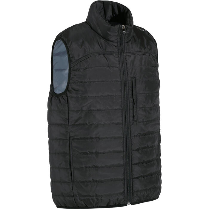 Heren bodywarmer GL100 ruitersport zwart