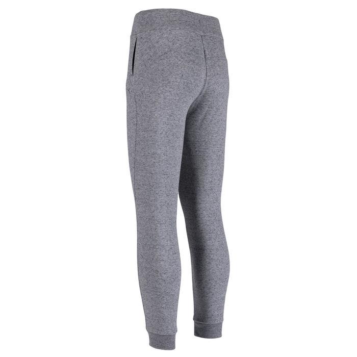 修身剪裁皮拉提斯與溫和健身長褲560 - 淺灰色