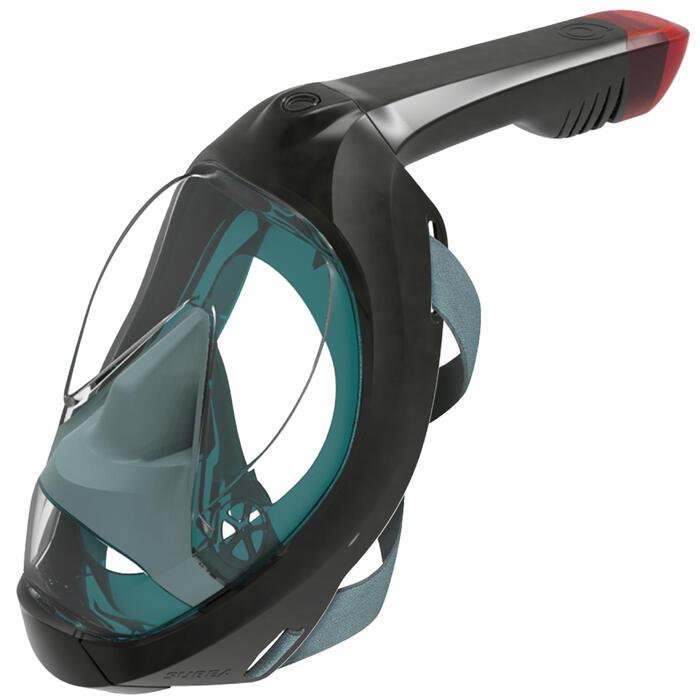 Snorkelmasker Easybreath 900 blauw