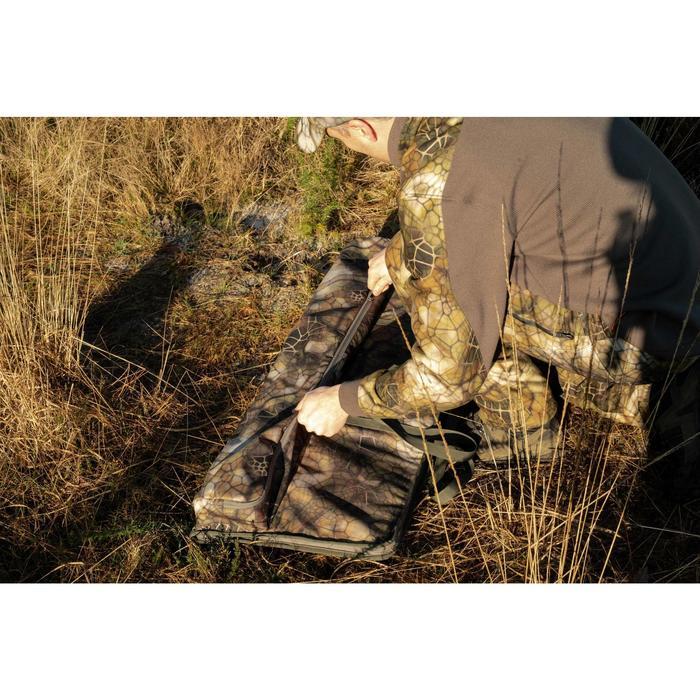 Jersey Caza Solognac 500 Calido Reforzado Camuflaje Sigilo