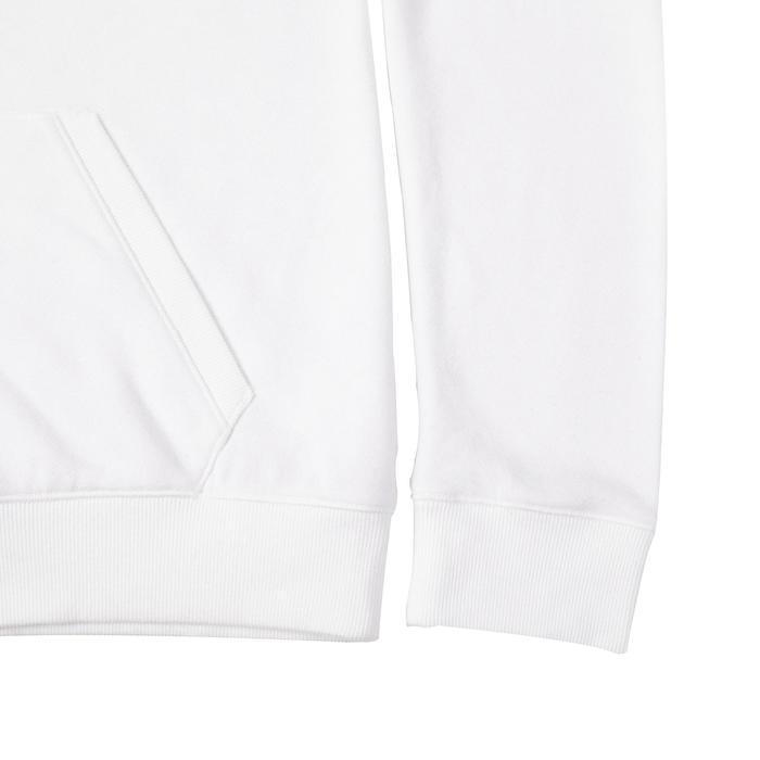Women's Hooded Pilates & Gentle Gym Jacket 520 - White