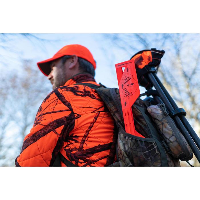Markeervlaggen veiligheidshoek 30° bij drukjacht oranje 2 stuks