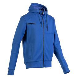 溫和健身與皮拉提斯連帽外套980 - 藍色
