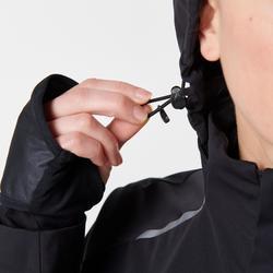 Hardloopjack voor dames Kiprun Warm Regul zwart