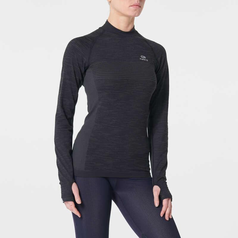 KADIN YOL KOŞUSU SOĞUK HAVA GİYİM Koşu - KIPRUN SKINCARE TİŞÖRT KIPRUN - Kadın Koşu Kıyafetleri