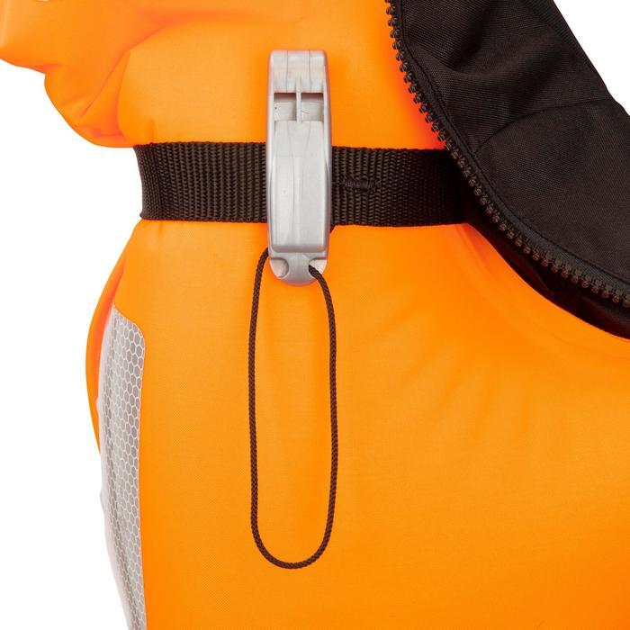 Gilet de sauvetage gonflable bateau adulte LJ150N AIR avec harnais noir