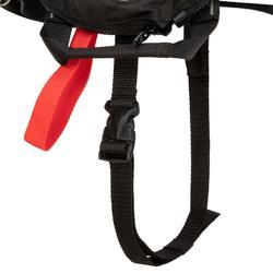 Opblaasbaar reddingsvest voor volwassenen LJ150N Air met harnas zwart