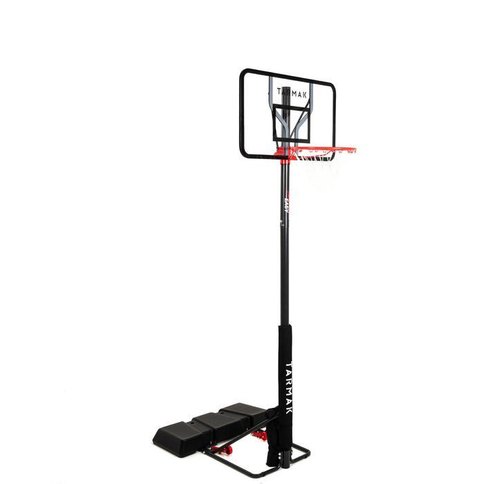 Basketbalpaal voor kinderen/volwassenen B100 EasyZonder gereedschap verstelbaar.