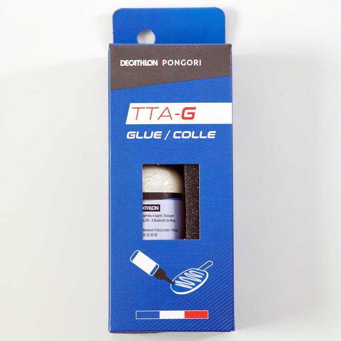 Lijm voor rubber en hout van een batje TTA lijm 100 ml + 10 applicators