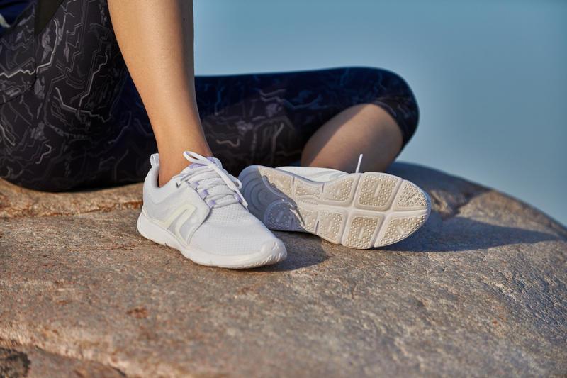 PW 120 Women's Fitness Walking Shoes - White