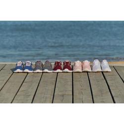 Damessneakers voor sportief wandelen PW 120 paars