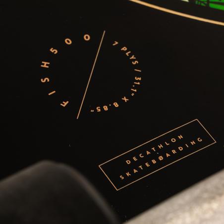 לונגבורד דגם Fish 500 - שחור