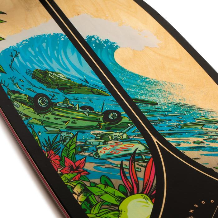 Longboard Fish 500 zwart