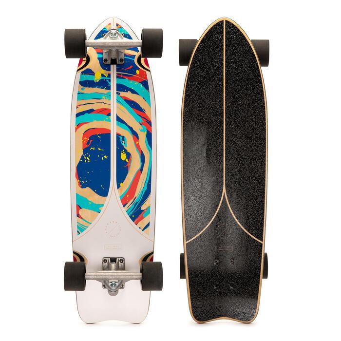 Longboard FISH 500 Blanc