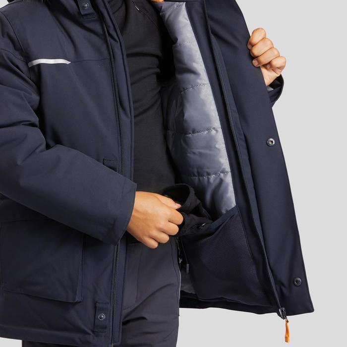 Jongensparka sneeuwwandelen SH500 U-Warm 7-15 jaar grijs