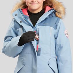 Girls' 7-15 Years Hiking Warm and Waterproof Parka SH500 U-Warm